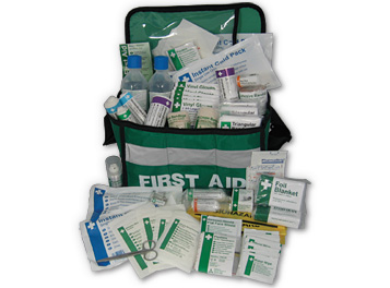 Sports Grab-Bag First Aid Kit (Red)
